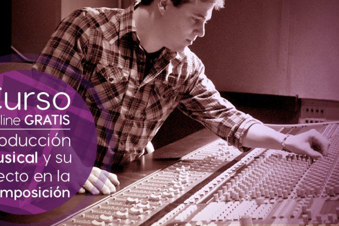 """Curso Gratis Online """"Producción Musical y su Efecto en la Composición"""" Berklee College of Music Estados Unidos"""